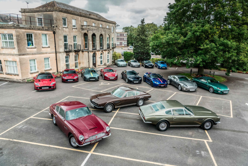 Avon Tyres hosts Aston Martin club in Melksham