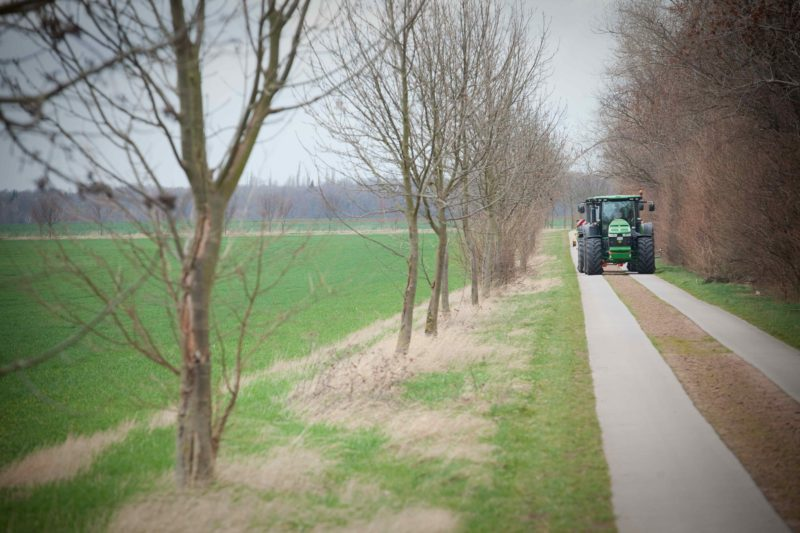 Bridgestone's VX Tractor tour heading across the UK