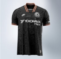 Yokohama proudly displayed on new Chelsea FC third kit