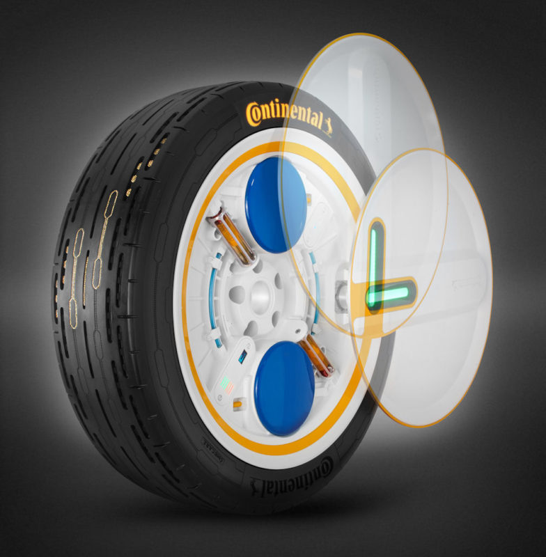 C.A.R.E. package – Continental presents tyre concept