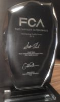 Dayco earns Outstanding Quality Supplier Award by FCA