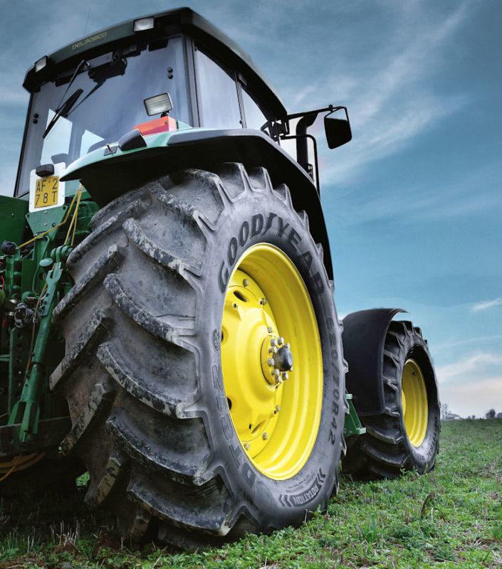 Growing agri range: Goodyear tyres back on British soil