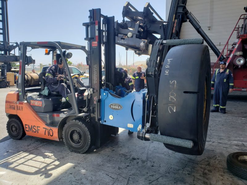 AME enters port segment with Easy Gripper