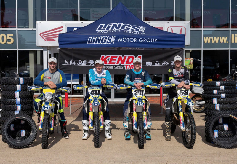 Kenda announces Lings MX & Enduro partnership