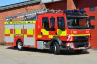 High praise from colleagues seals a return to Michelin for Suffolk Fire and Rescue