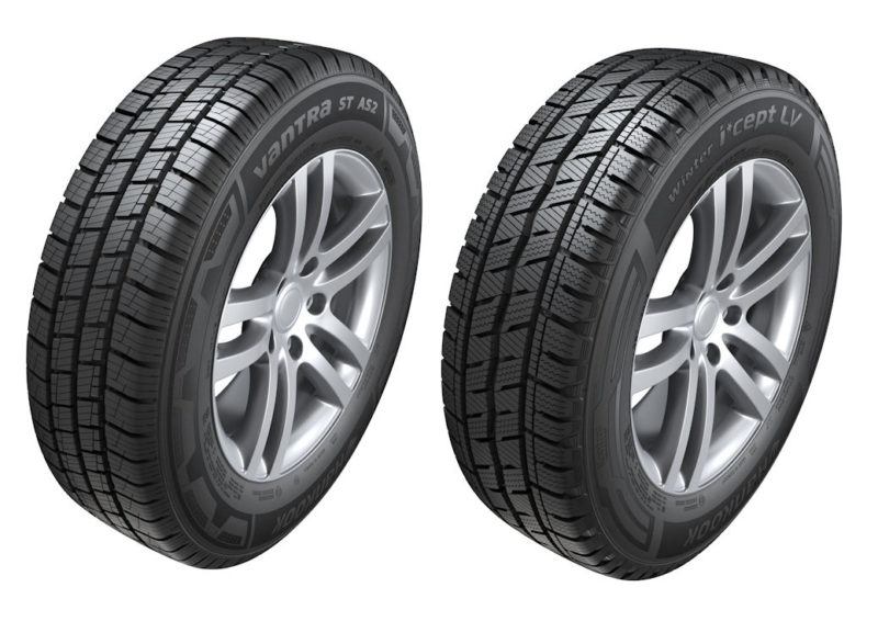 New Hankook all-season, winter van tyres