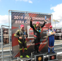 Two podiums for Textar-sponsored John Newell at Snetterton