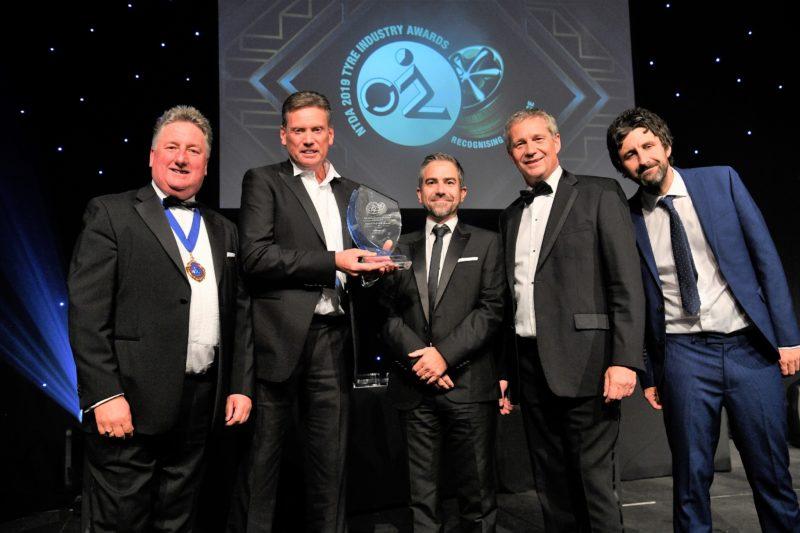 Second successive NTDA training award for Bridgestone