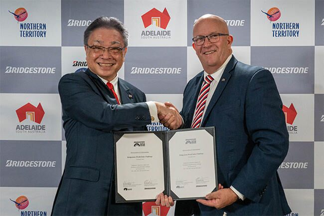 Ten more years – Bridgestone renews World Solar Challenge partnership