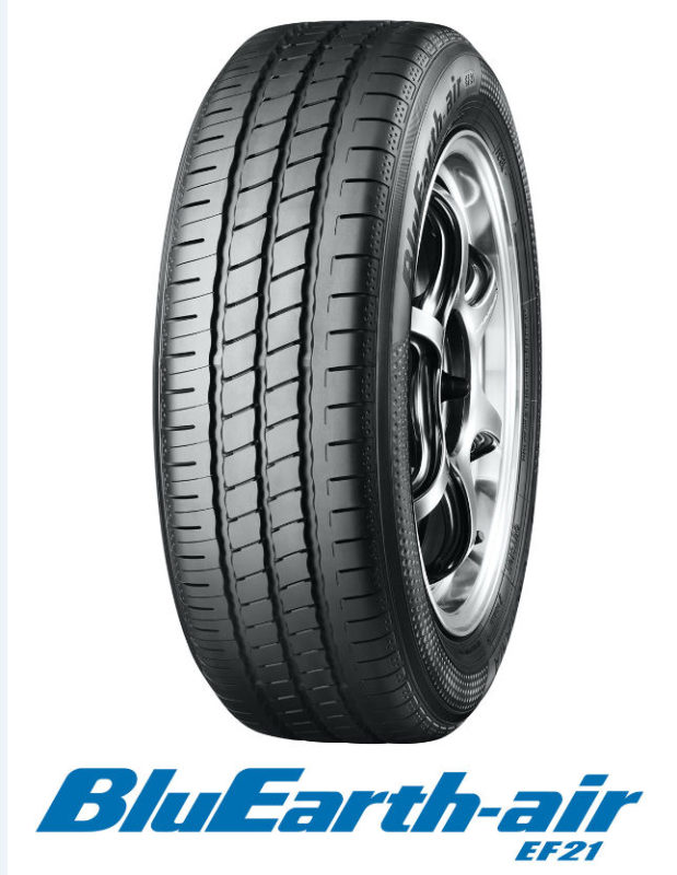 Yokohama's AA-rated eco tyre helps lower emissions and fuel use