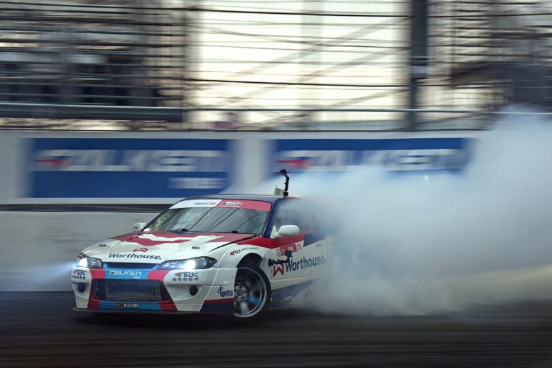 Falken's James Deane secures Formula Drift triple