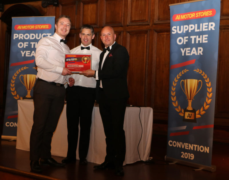 Trico makes it a hat-trick of A1 Motor Stores awards