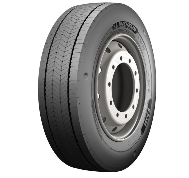 Michelin presents higher-load tyre for electric buses