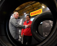 NMA award for Prince Charles Pirelli visit photo