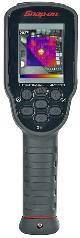 New Snap-on diagnostic thermal laser