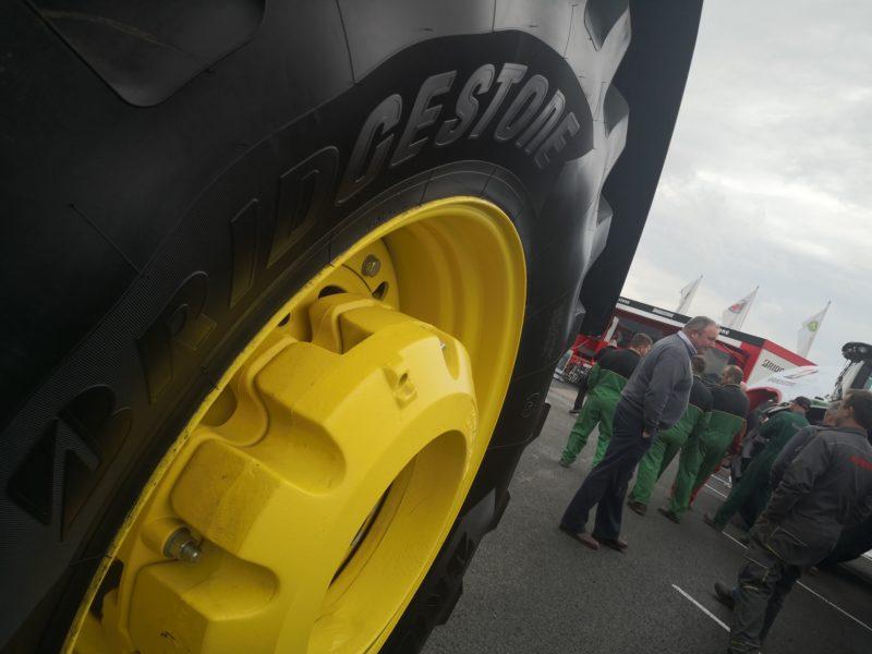 Bridgestone reap the rewards after VX Tractor road run