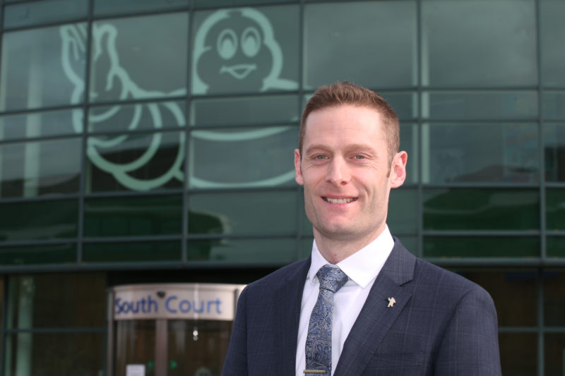 Chris Smith named as Michelin UK MD