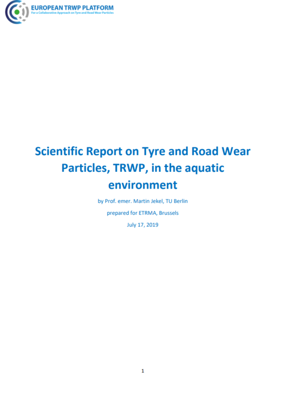 ETRMA publishes two reports on tyre particulate