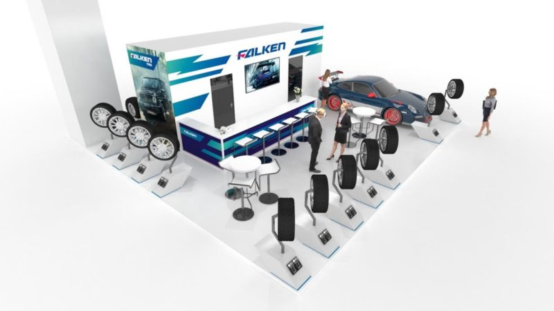 Falken to reveal new efficient passenger car tyre at Equip Auto