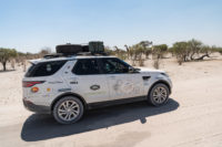 Goodyear official Land Rover Experience tyre for Kaza National Park tour
