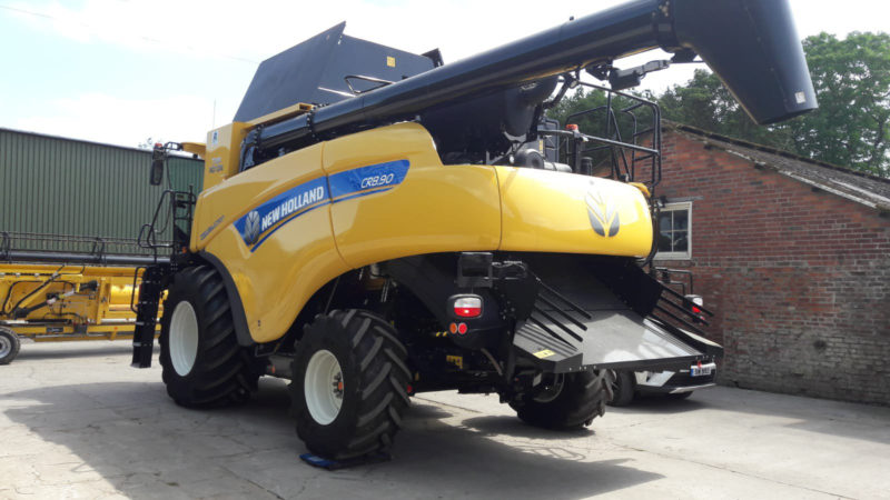 Michelin high-tech agricultural tyres help negotiate 'difficult' harvest