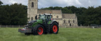 Thoresby Farming fits Michelin AxioBib tyres on 500hp tractor