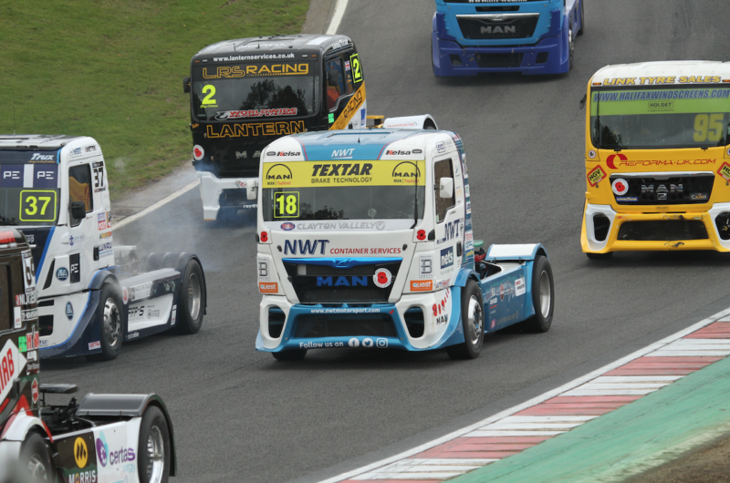 Textar powers Newell & Wright to third place in truck racing finale