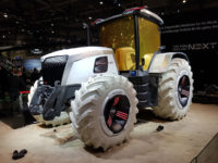 Massey Ferguson concept wears Trelleborg carbon-free tyres