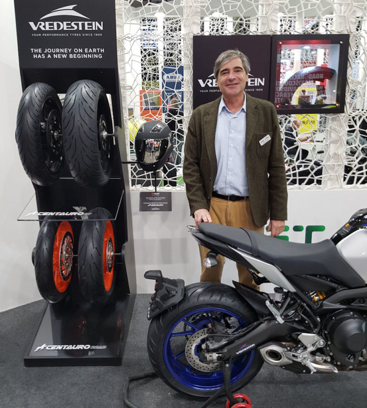 Vredestein on two wheels – EICMA launch for new motorcycle range