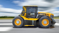 GKN Wheels on world's fastest JCB Fastrac
