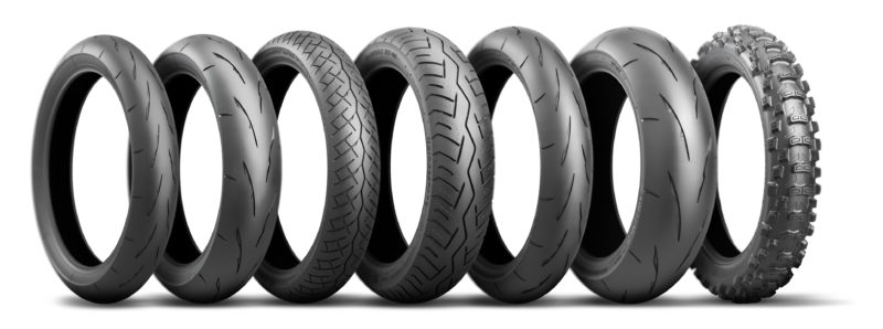Bridgestone adds 4 new tyres to moto racing range