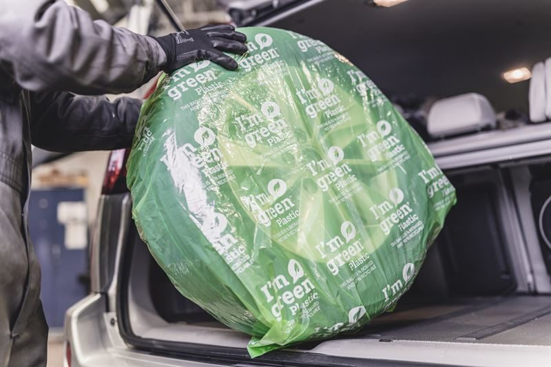 Nokian Tyres greener bags