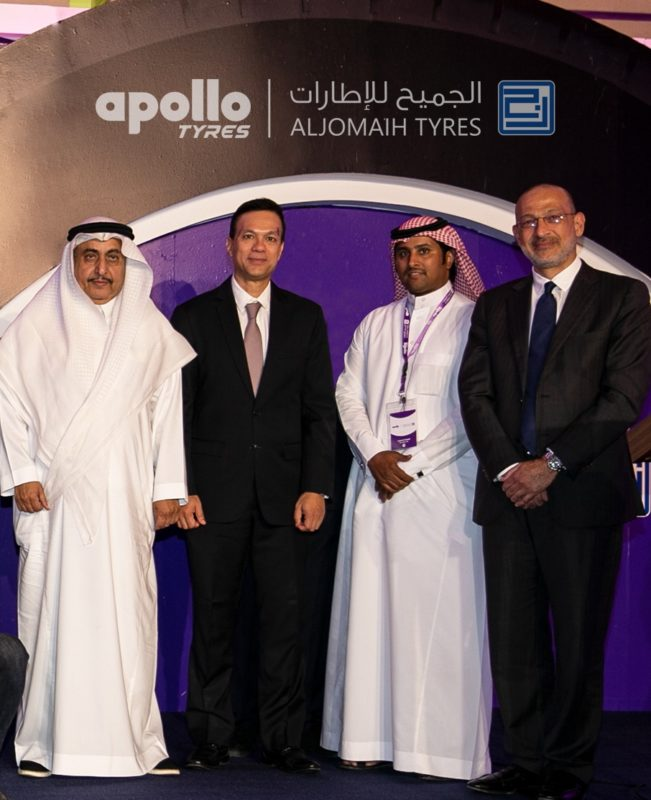 Apollo Tyres Saudi distribution