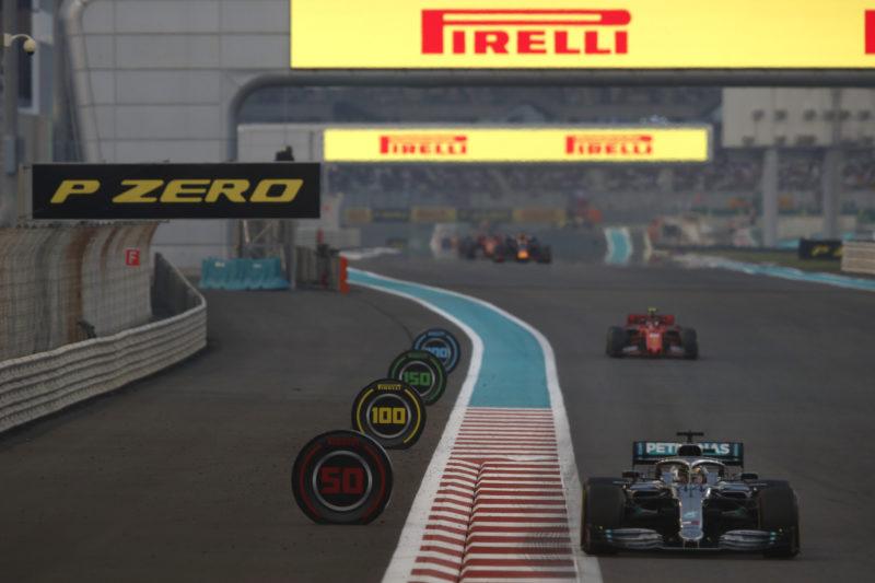 Hamilton finishes emphatic F1 season as Pirelli turns to testing at Yas Marina
