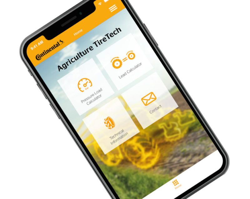 New agri app from Continental