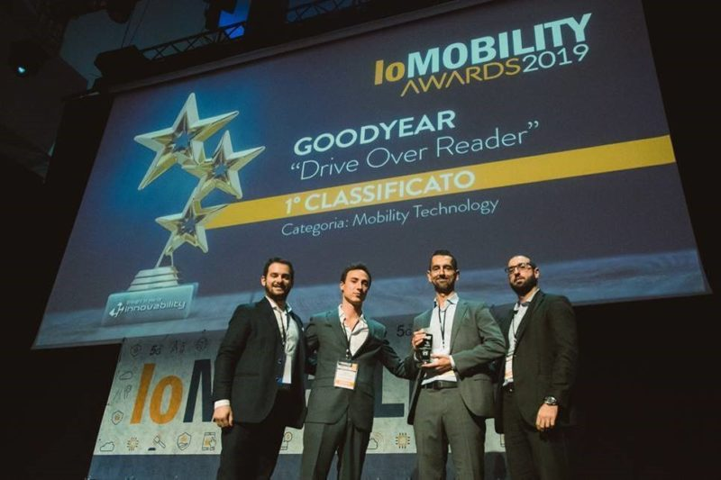 Goodyear Drive-Over-Reader wins third innovation award in 2019
