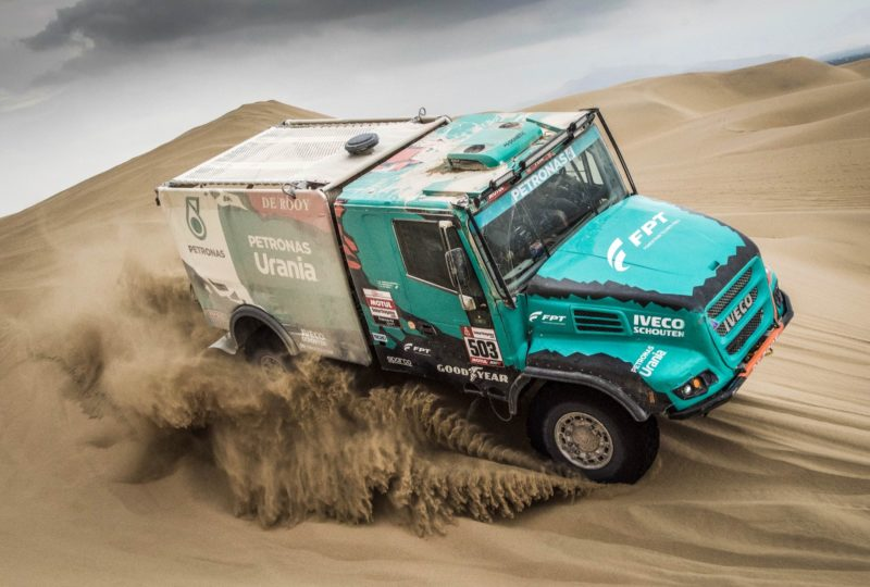 Petronas De Rooy Iveco on Goodyear tyres