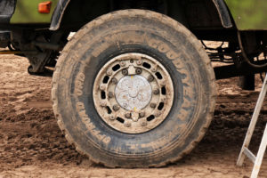 Goodyear Offroad ORD tyre profile