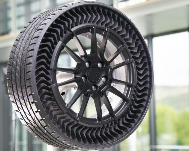 Innovation awards for Michelin airless prototype tyre