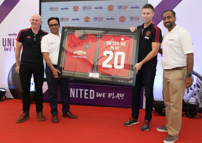 United We Play – Apollo Tyres & Man Utd promoting young football talent in India