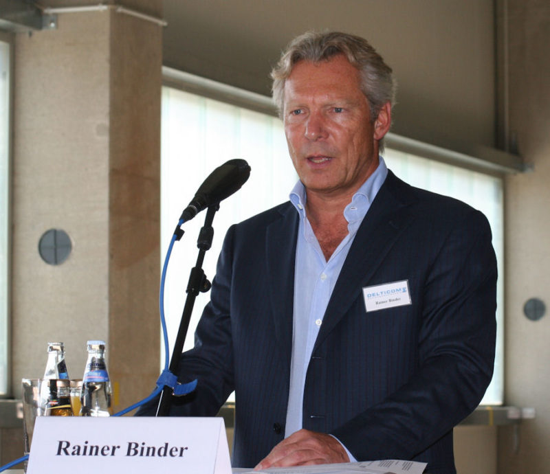 Rainer Binder resigns as Delticom chairman