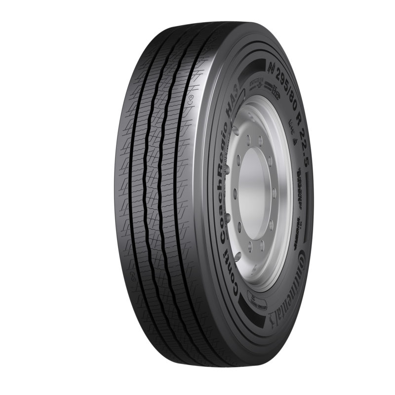 New intercity bus tyres from Continental