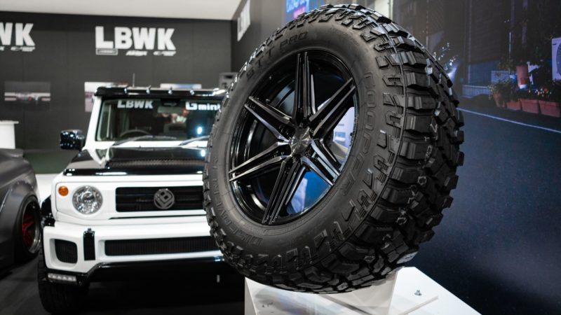 Cooper showcases 4x4 HP tyres with Liberty Walk Europe at Autosport