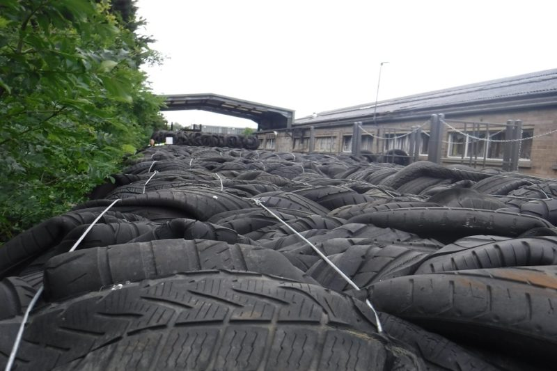 Directors and company sentenced for illegal tyre storage