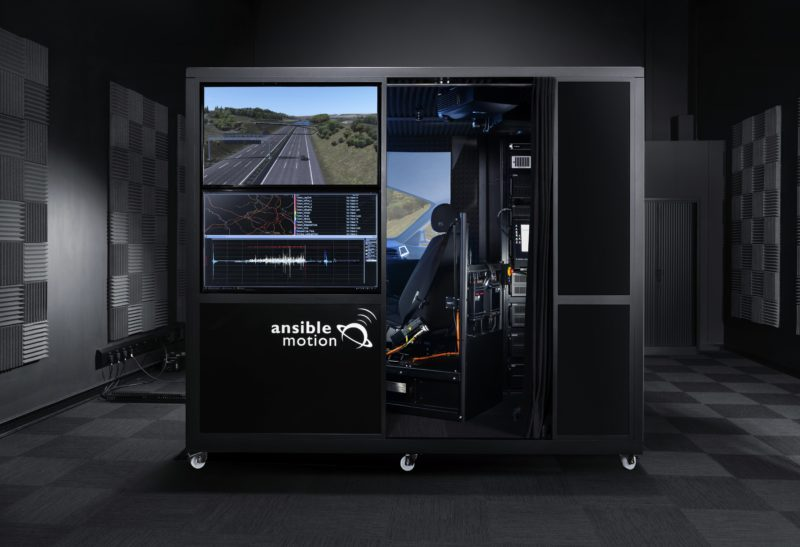 Michelin installs Ansible Motion compact driving simulator to assist tyre R&D