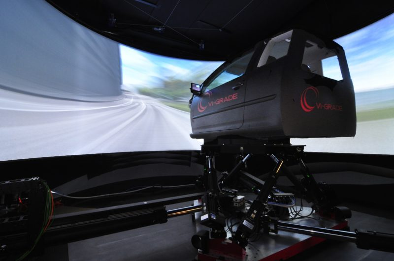 Goodyear buys two VI-grade driving simulators for tyre development