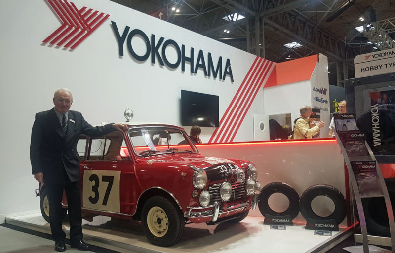 Yokohama presents classic tyre range at Autosport