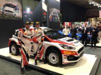 BRC car on Pirelli stand
