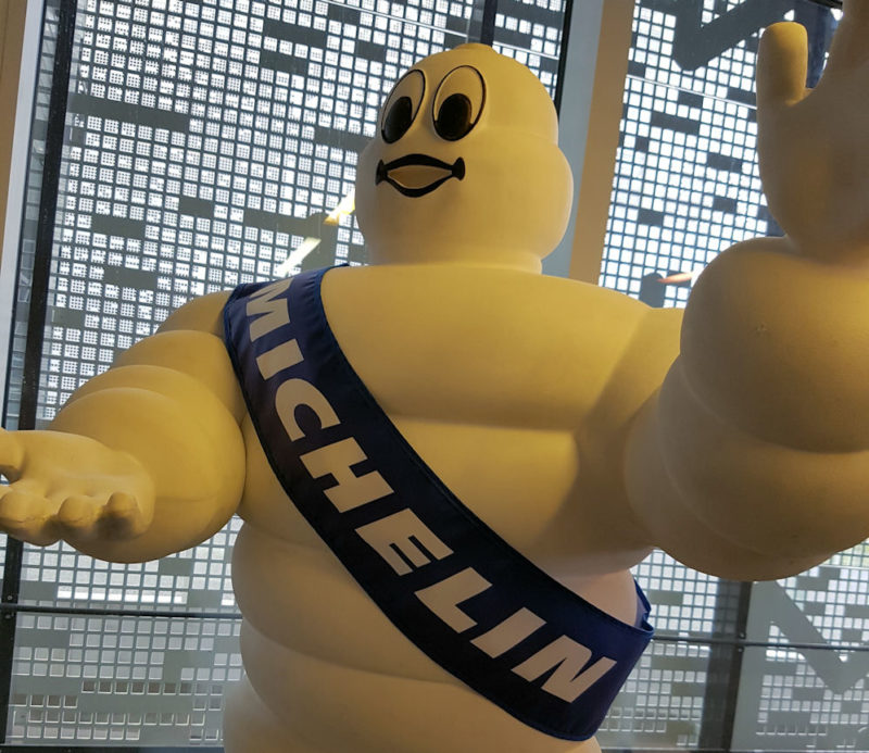 Michelin amongst Fortune's most admired companies