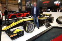 Pirelli show 18-inch Formula 2 tyres at Autosport 2020